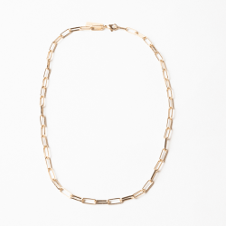 Mesh Chain - Gold Plated